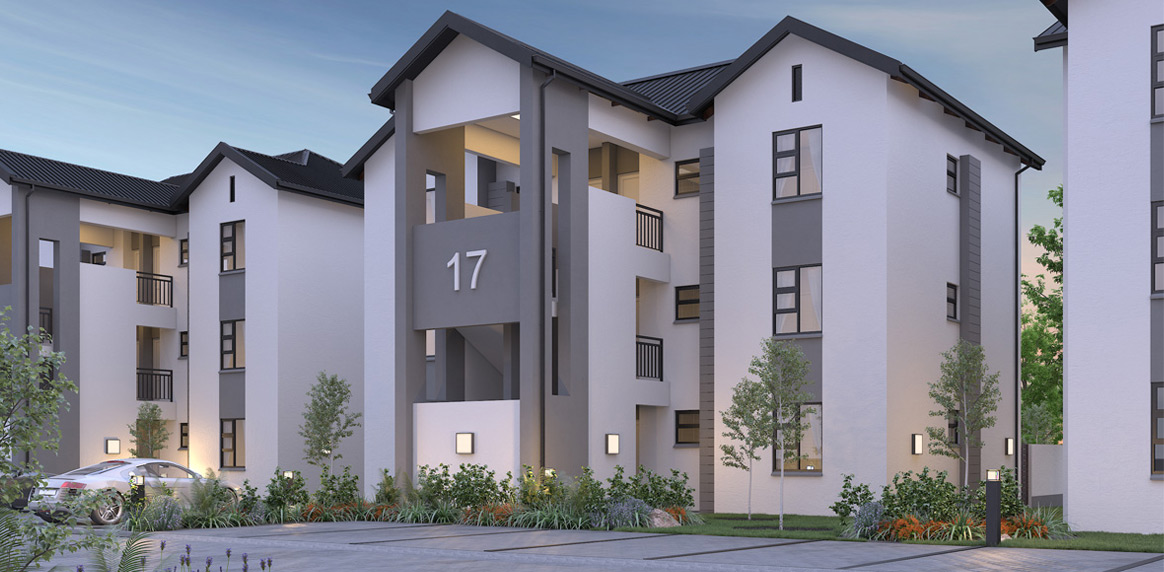 2 and 3 Bedroom Apartments at Copperhill Estate